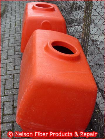 Polyester maatwerkproduct tank