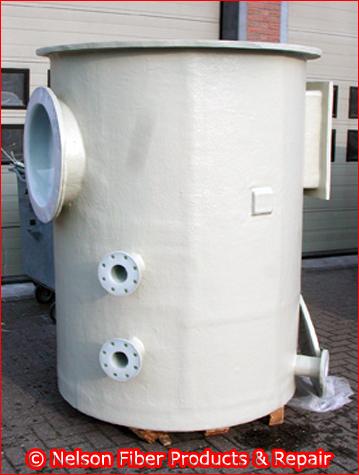 Polyester bekleding tank