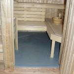 Anti-slip polyester vloer sauna